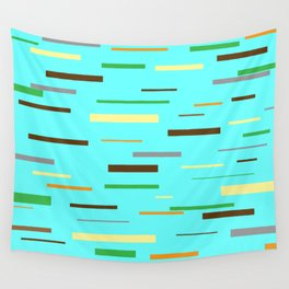 Floating Planks Wall Tapestry