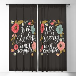 Pretty Not-So-Sweary: Half-Assery is not Acceptable Blackout Curtain