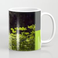 clover Mugs featuring Clover by Thomas Ray Publishing