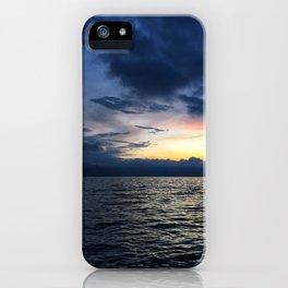 Sunsets in Lago Atitlan iPhone Case