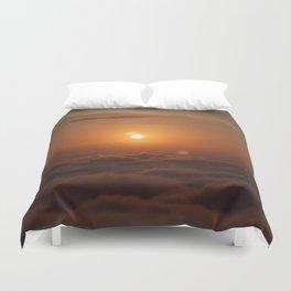 Three Sun SunSet Duvet Cover