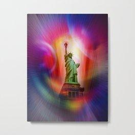 New York NYC - Statue of Liberty 2 Metal Print