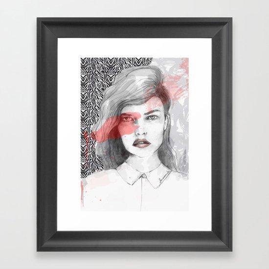 true blood Framed Art Print