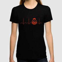 Biochemist Heartbeat T-shirt