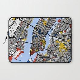 New York Mondrian Laptop Sleeve