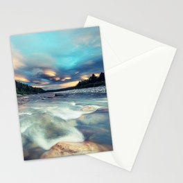 Lenticular Riverscape Stationery Cards