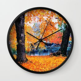 Boston, Panorama Wall Clock