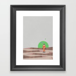 alone (2015) Framed Art Print