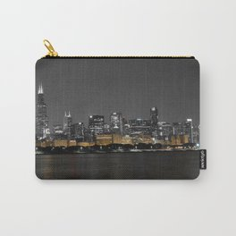 Chicago Silver and Gold Carry-All Pouch