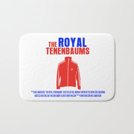 The Royal Tenenbaums Movie Poster Bath Mat