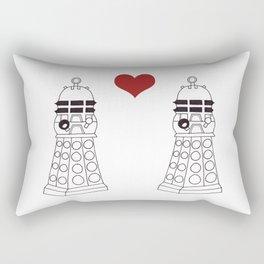 Daleks need love too Rectangular Pillow