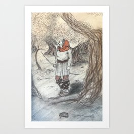 The Forester Art Print