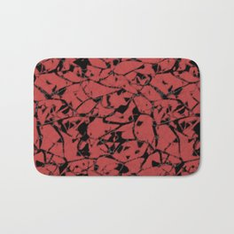 Abstract spotted pattern Bath Mat