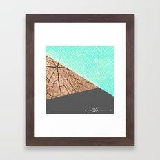 color-block v.1 Framed Art Print