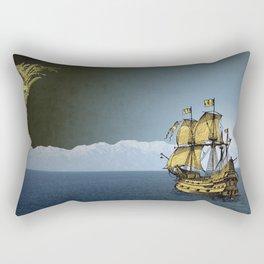 Ships That Pass In The Night Rectangular Pillow