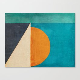 Regata al Tramonto Canvas Print