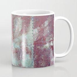 Background. Grunge and rusty metal surface Coffee Mug