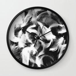 Fallen Feathers #2 Wall Clock