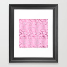 Hearts & Stripes ( Valentine's Day Gifts / Valentine Gift ) Framed Art Print