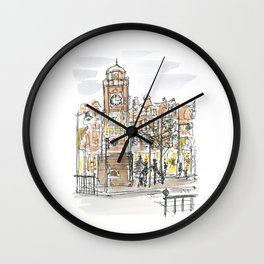 crouch end clock tower Wall Clock