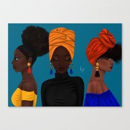 afrocentric Canvas Print