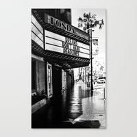 almost famous Canvas Prints featuring Almost Famous by K. Heffernan