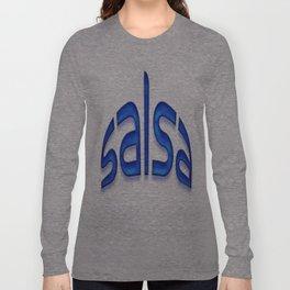 Salsa Blue Jerry Long Sleeve T-shirt