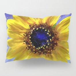 Sunflower Azul Pillow Sham