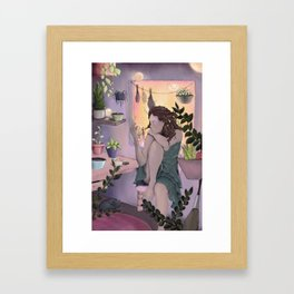 Plant Witch Framed Art Print