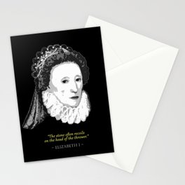 Queen Elizabeth I Quote Stationery Cards