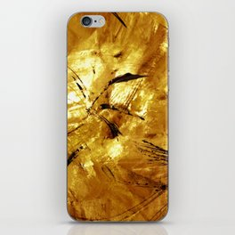 A Touch of Gold iPhone Skin