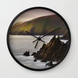 Slea Head in Ireland (RR246) Wall Clock