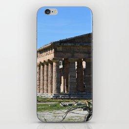 templi di paestum iPhone Skin