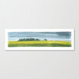 Prairie Fam Canvas Print