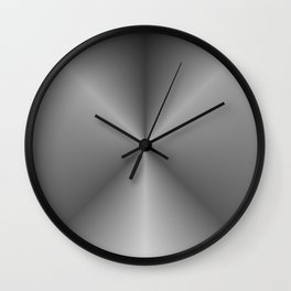 black extract Wall Clock