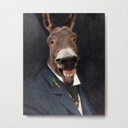 Donkey Eddie E. Smith Metal Print