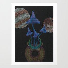 Universe Grows Art Print