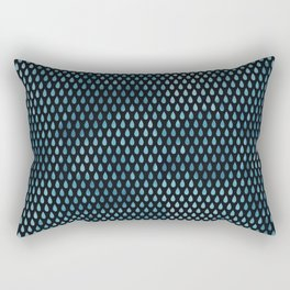 Rain Drop Pattern Rectangular Pillow