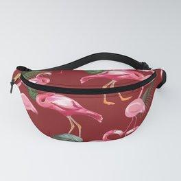 Flamingos Love Pattern 4 Fanny Pack