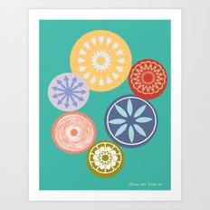 Blomst- 8 x10 Art Print Art Print