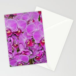 Pink Orchid Joy Stationery Cards
