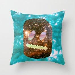 Intergalactic Wilson Ball Throw Pillow