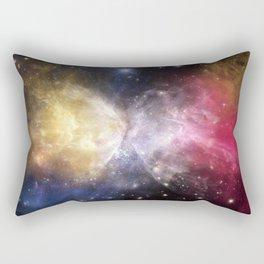 Fussion Watercolor Universe Rectangular Pillow