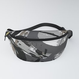 Enso Groove C by Kathy Morton Stanion Fanny Pack