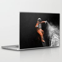 astronaut Laptop & iPad Skins featuring Astronaut by Florent Bodart / Speakerine