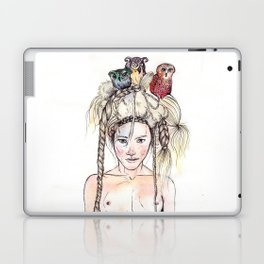 Owls in the head Laptop & iPad Skin