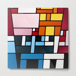 Sophie Taeuber Arp Abstract Composition Metal Print