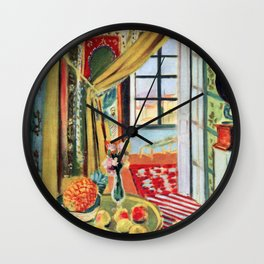Henri Matisse Interior with a Phonograph Wall Clock