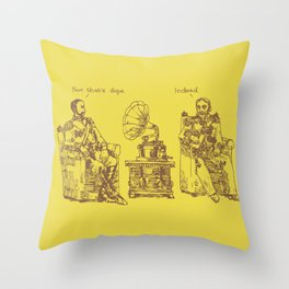 Now That's Dope Throw Pillow