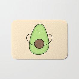 Cute Avocado Hug Bath Mat